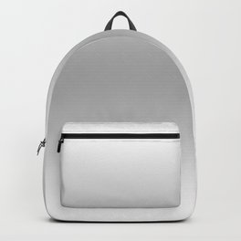 White to Gray Horizontal Bilinear Gradient Backpack