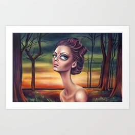 Gone From Me Art Print