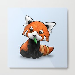 Red Panda or Red Cat-Bear? Metal Print