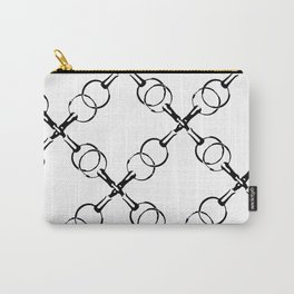 Diagonal Bits Carry-All Pouch