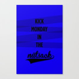 Monday Canvas Print