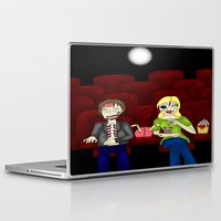theatre Laptop & iPad Skins featuring Horror Theatre by Beaston Designs