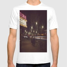 The Colonial MEDIUM White Mens Fitted Tee