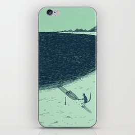 'Beach' (Colour) iPhone Skin