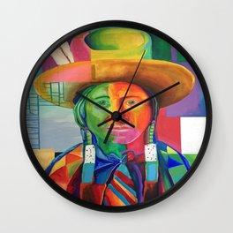 Cowboy Indian Wall Clock