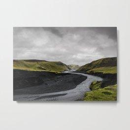 River Bend Metal Print