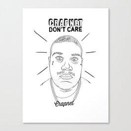 CRAPNET Don't Care - 'Romance' Canvas Print