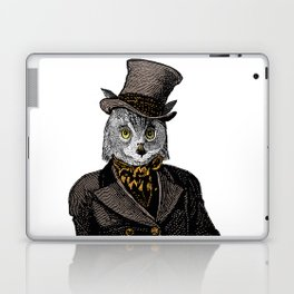 Owl Portrait   No.1 of 2 from The Owl and the Pussycat Set Laptop & iPad Skin