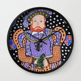 King Henry VIII Wall Clock