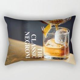 The Classic Negroni Rectangular Pillow