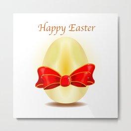 The Golden Egg Metal Print