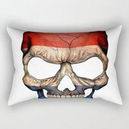 Exclusive Netherlands skull design Rectangular Pillow