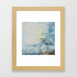 Shore Bird 8664 Framed Art Print