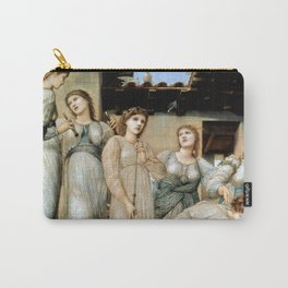 """Edward Burne-Jones """"The Golden Stairs"""" Carry-All Pouch"""