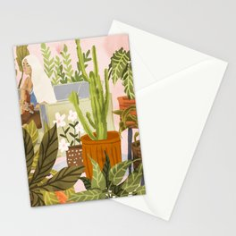 Playing For My Plants Stationery Cards