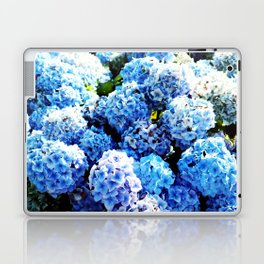Blue flowers all summer  Laptop & iPad Skin