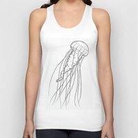 jelly fish Tank Tops featuring Jelly by Little Mama