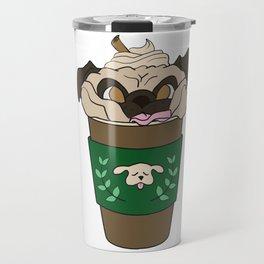 Coffee Pug Travel Mug