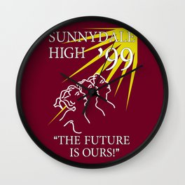 Sunnydale Yearbook Wall Clock