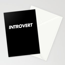 Introvert Stationery Cards