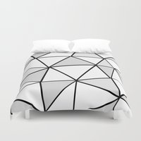 origami Duvet Covers featuring origami by themicromentalist