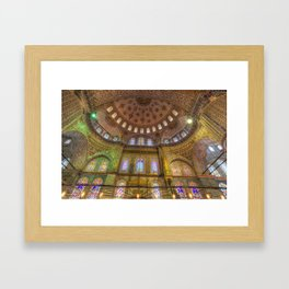 The Blue Mosque Istanbul Framed Art Print