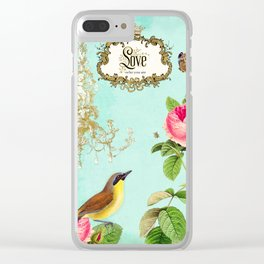 Love who you are Clear iPhone Case