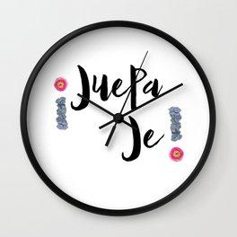 Juepa Je-- Spanish Wall Clock