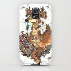 Deer in Flowers Slim Case Galaxy S5