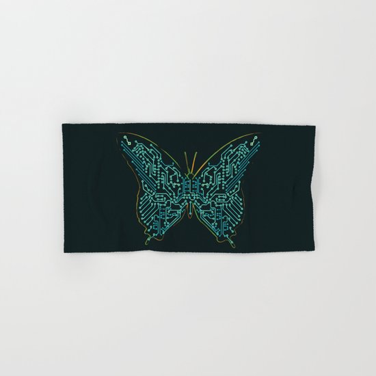 Mechanical Butterfly Hand & Bath Towel