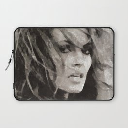 Raquel Welch Portrait Laptop Sleeve