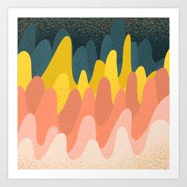 Lumpy Bumps Art Print