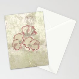The temple bell stops but I still hear the sound coming out of the flowers. Stationery Cards