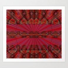 Techno Illusions Art Print