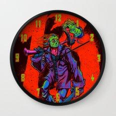 TGIF13 (neon variant) Wall Clock