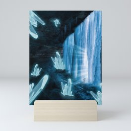 Crystal Planet Mini Art Print