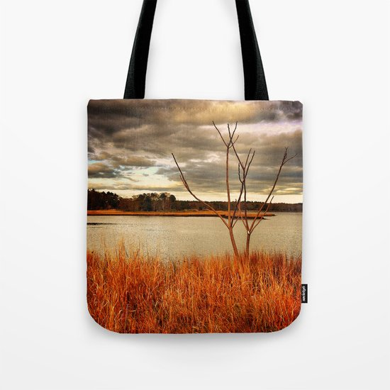 Fall Stalk Tote Bag