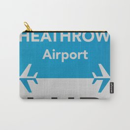 LHR Heathrow airport Carry-All Pouch