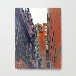 Park Street Place Metal Print