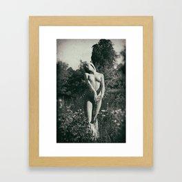 Basking Framed Art Print