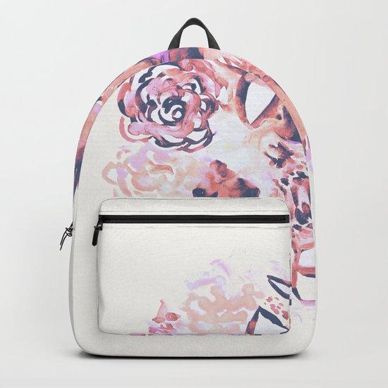 Pastel Flowers Backpack