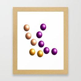 Balls / Kugeln   (A7 B0041) Framed Art Print
