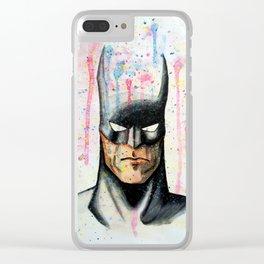 bat spat Clear iPhone Case