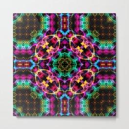 Modern Colorful Abstract Pattern SB86 Metal Print