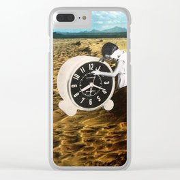 Time Zone 1 Clear iPhone Case