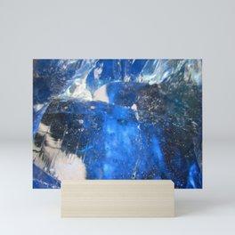 Shade's of Blue Mini Art Print