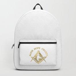 Masonic symbol Backpack