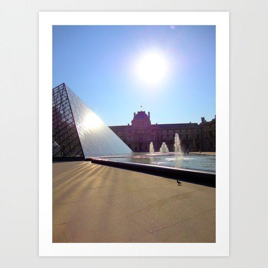 Louvre Paris Art Print