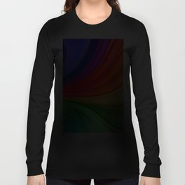 Abstract Rainbow Background Long Sleeve T-shirt