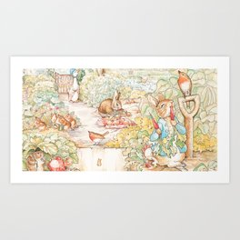 The World of Beatrix Potter illustration Kunstdrucke